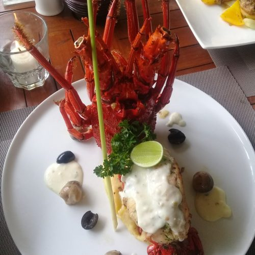 Chef Wayan Sukadana cocobeli Broiler Lobster