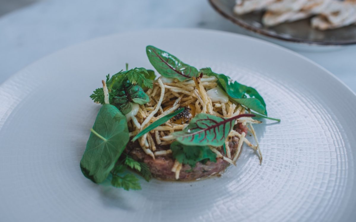 Steak Tartar ONA Canggu Cocobeli