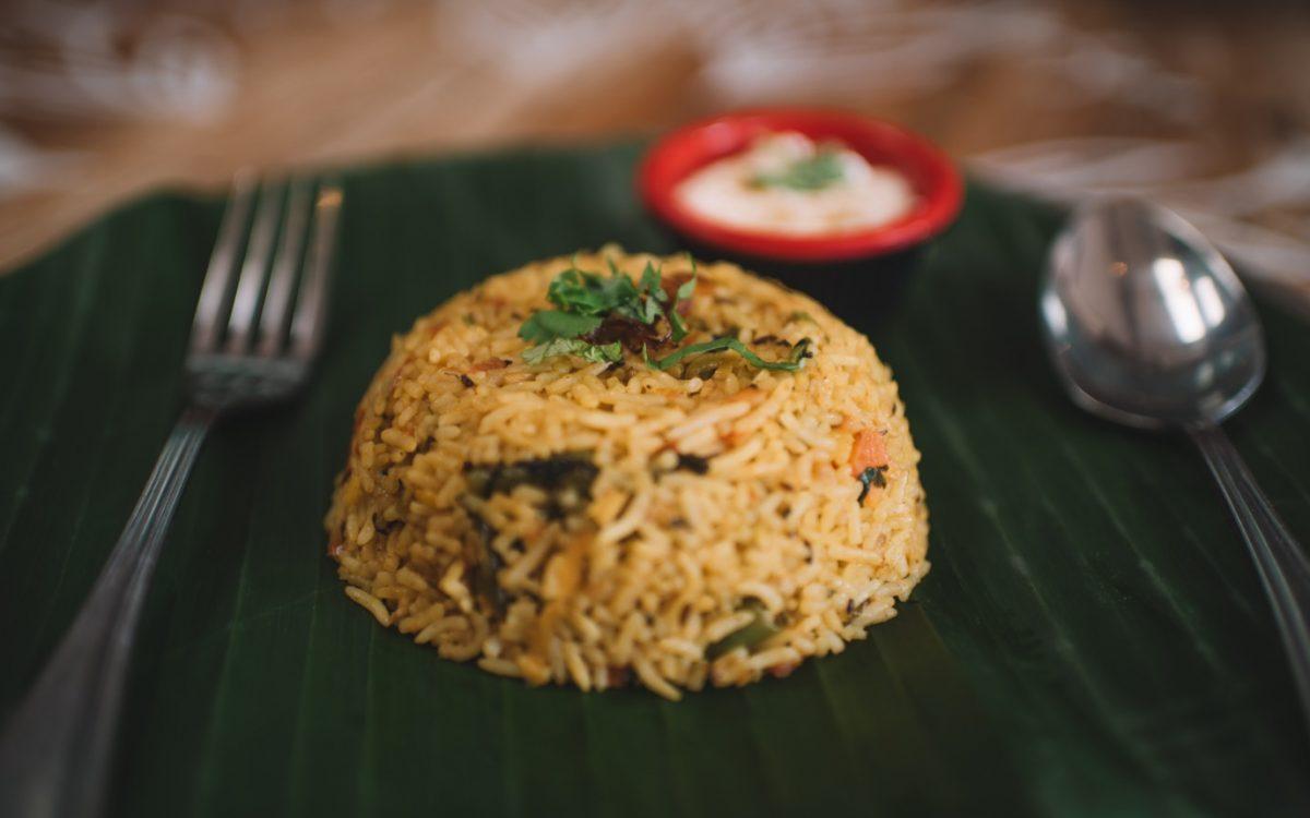 Roti Daal VEGETABLE BIRYANI Cocobeli