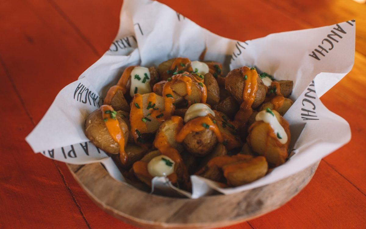 patatas bravas la plancha Cocobeli