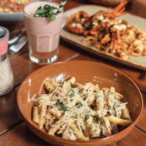 chef denny chandra delicious food