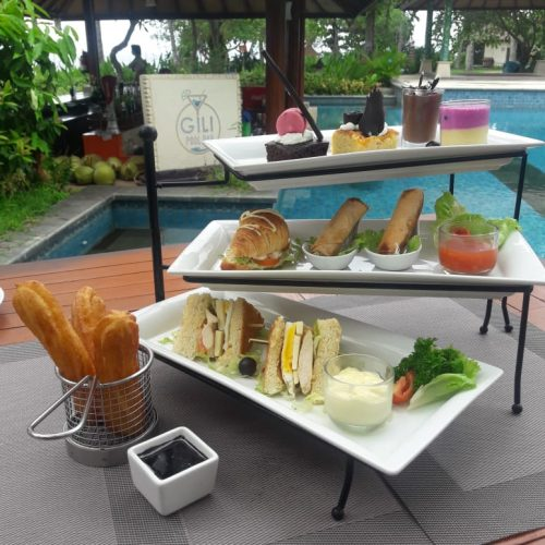 Chef Wayan Sukadana cocobeli Tea Time Paket