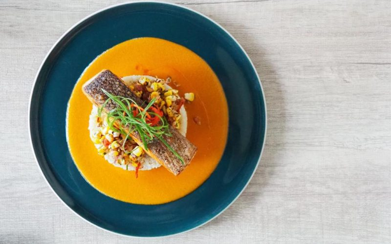 Salmon Gulai williams jakarta Cocobeli
