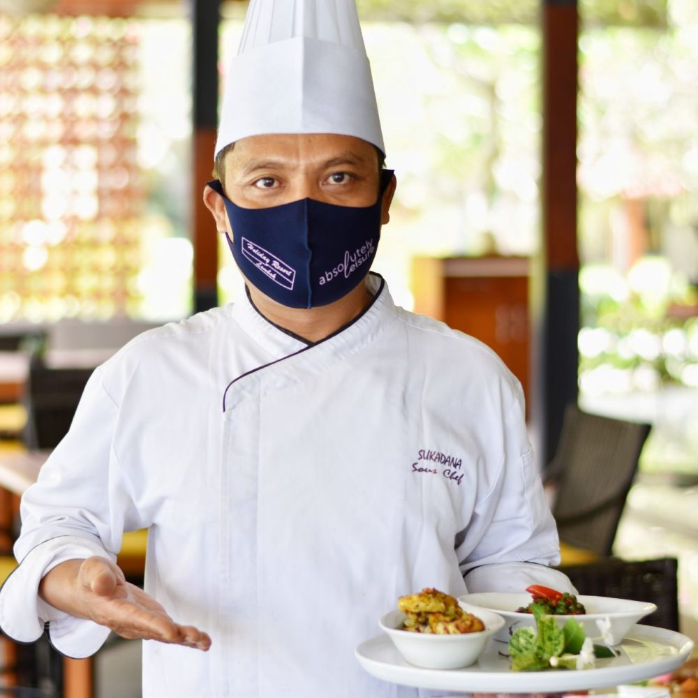 Chef Wayan Sukadana cocobeli