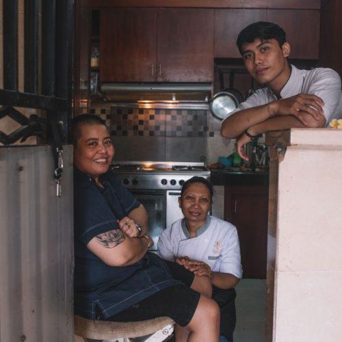 chef putu cameras kitchen cocobeli